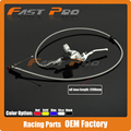 1200mm Hydraulic Clutch Lever Master Cylinder For 125-250cc Vertical Engine Offroad Motorcycle Dirt Bike ATV Silver