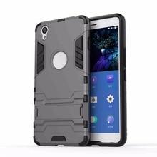 Oneplus X Cas TPU + Dur Retour Cas avec support De Protection De Fer homme Bouclier Armure Double Cas pour Oneplus X Smartphone Livraison gratuite