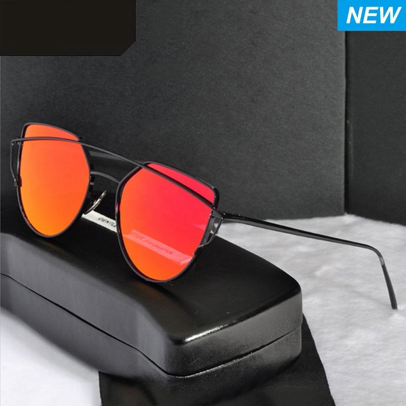2017 Nové módní klasické vintage brýle pro kočky pro oči, ženy, značkové retro kovový rám, pánské sluneční brýle, Uv400 Oculos De Sol