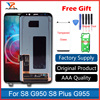 100 Original Super Amoled LCD Screen For Samsung Galaxy S8 Display G950 S8 S8 Plus G955