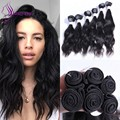 Popular style Natural Wave Human Hair Weave Bundles 6pcs/lot Brazilian virgin hair Bundles 200g/lot Cheap Bundles In Stock