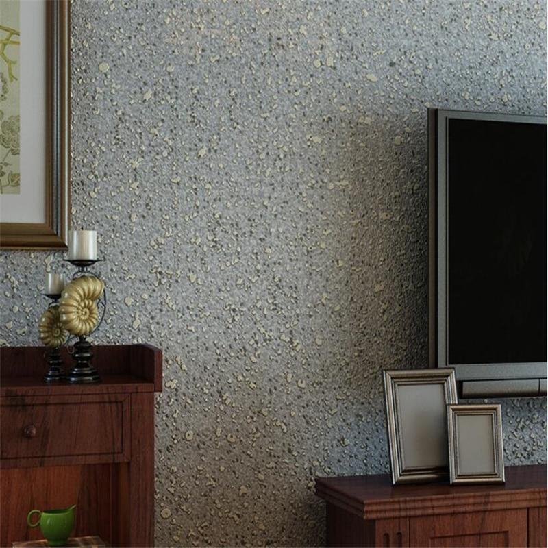 Beibehang Modern simple plain living room bedroom wallpaper little bubble mottled hotel corridor hotel background 3d wallpaper beibehang warm 3d small leaf pink shallow green 3d wallpaper bedroom living room hotel corridor background 10 m wallpaper roll