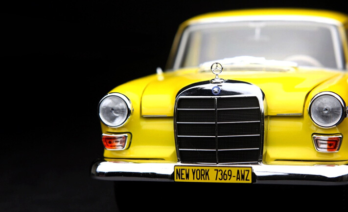 NOREV1:18 German classic retro master taxi model collection high imitation alloy model cars