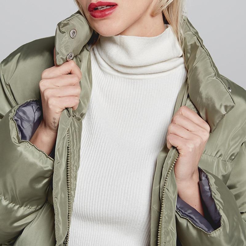 Col Épaisse 3 long Plus Ouatée Slim Coton Moyen Hiver Parka Polaire Veste Taille La Montant 2 Chaud Mode 4 Outwear Manteau Femmes 1 xgq7wOA