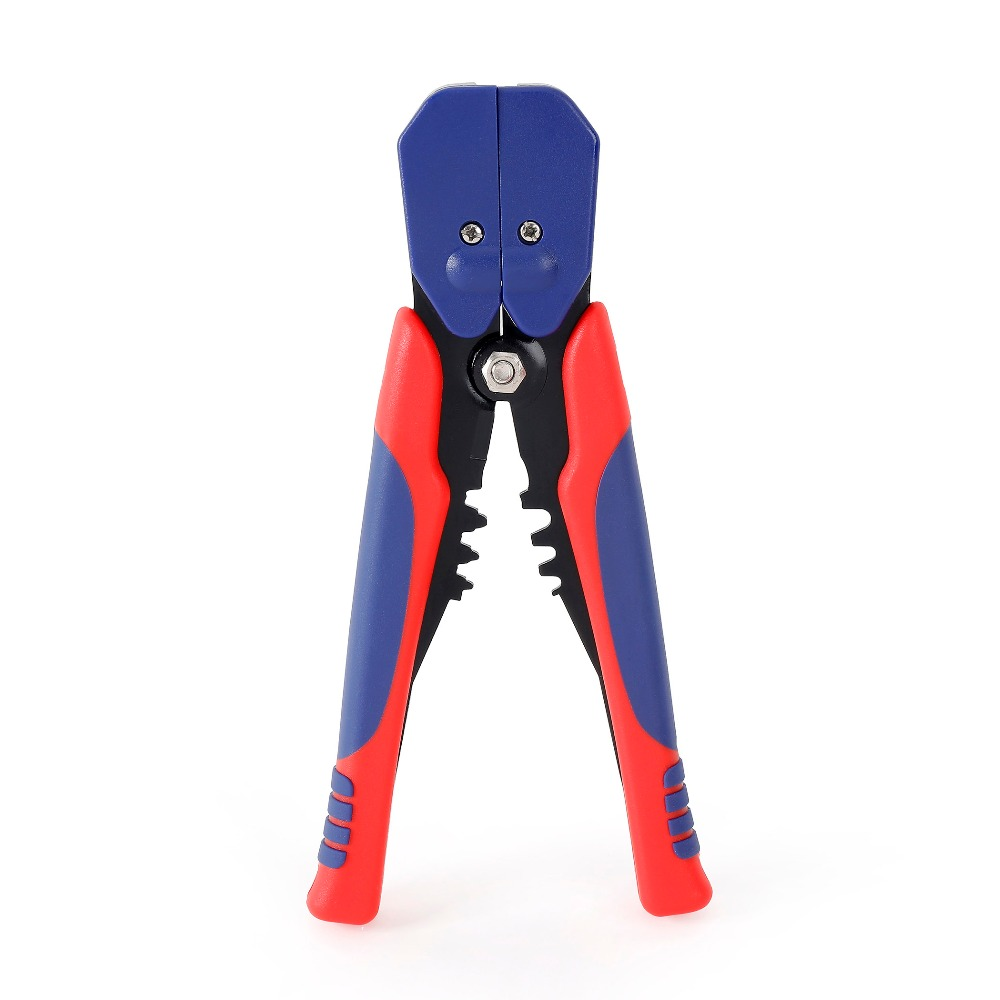 """WORKPRO 8"""" Automatic Wire Stripper Self-Adjusting Tool Combination Electrical Cable Cutting Stripping Crimping Tools"""