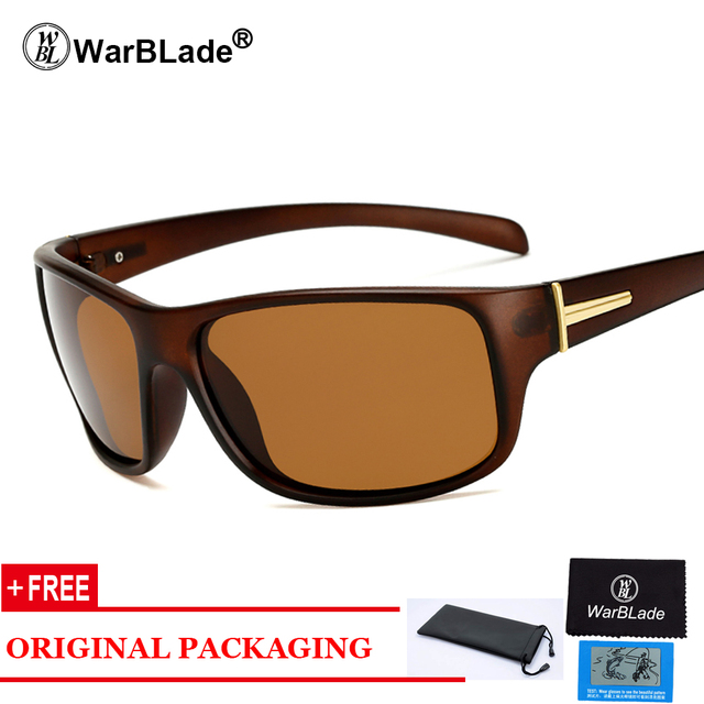 9329ffcb66 2018 Luxury Brand Polarized Sunglasses Men Top Quality Male Sun Glasses  Driving Fashion Travel Eyewear UV400