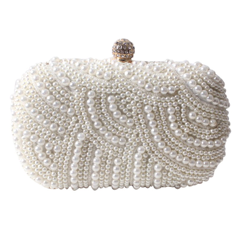 Evening Bags Women Clutch Bag Ladies Wedding Bridal Handbag Pearl Beaded Diamond Day Cluthes Crystal Purse Party Wedding картридж colouring cg cli 521c cyan для canon ip3600 ip4600 mp540 mp550 mp620 mp630 mp980