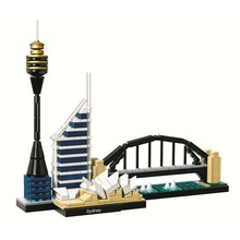 Bela 10676 Architecture Building Sets Sydney Opera House Tower Bridge Model Block Bricks Compatible With Legoings 21032