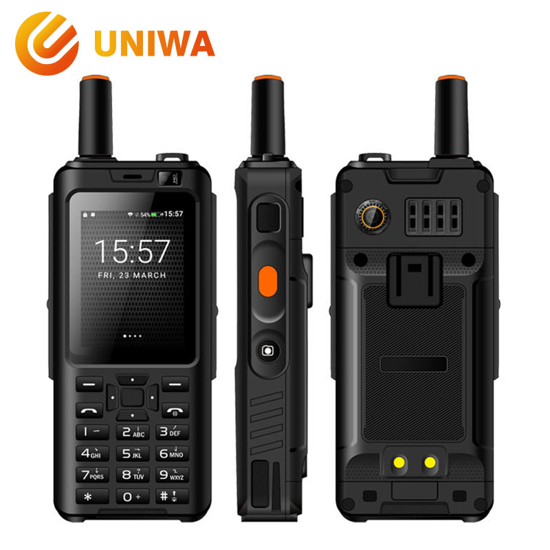 Uniwa Alpes F40 Zello Talkie-walkie Téléphone Portable IP65 Imperméable 2.4 Écran Tactile LTE Smartphone MTK6737M Quad Core 1 gb + 8 gb Téléphone