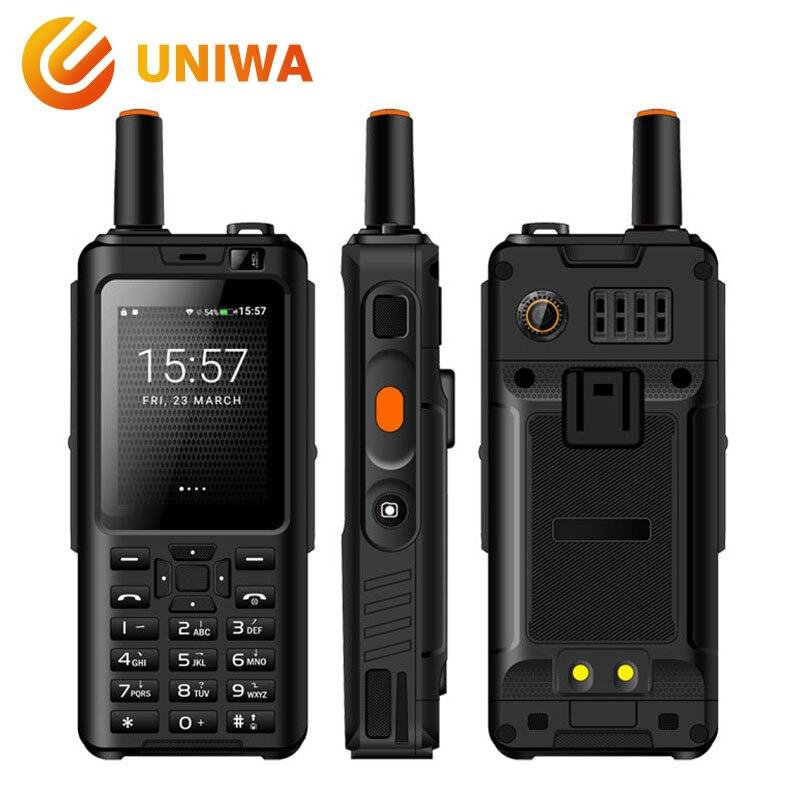 Uniwa Alpi F40 Zello Walkie Talkie Cellulare IP65 Impermeabile 2.4