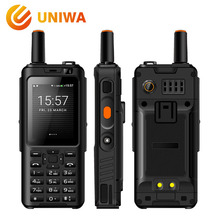 Uniwa Alps F40 Zello Walkie Talkie Mobile Phone IP65 Waterproof 2.4″ Touchscreen LTE Smartphone MTK6737M Quad Core 1GB+8GB Phone