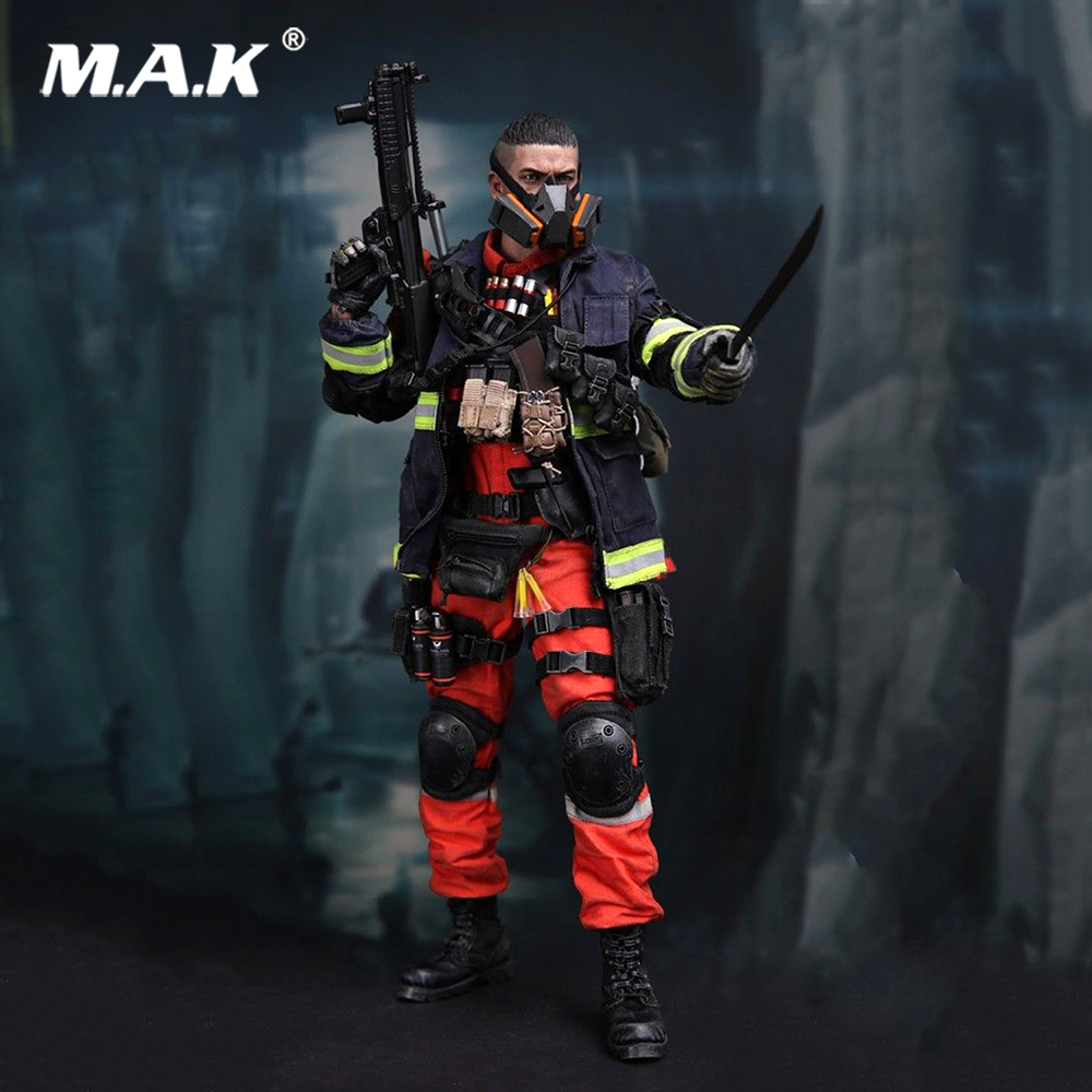1/6 VM-018 Full Set Toy Gift Solider The Darkzone Agent Collection Doll