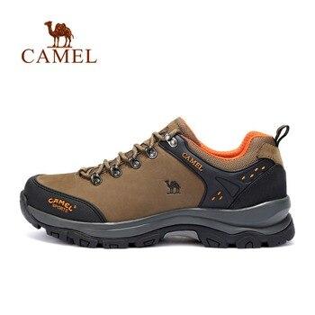 CAMEL/Новое поступление, мужская спортивная обувь на шнуровке, Нескользящая дышащая обувь для охоты и туризма