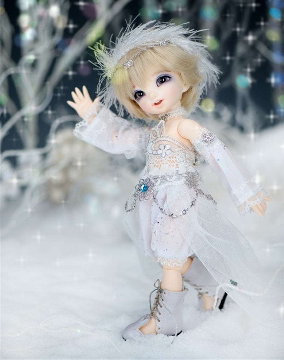 AQK(AQK) BJD1/6 sd doll lovely ante elf Free eyes