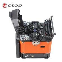 A-80S оранжевый автоматический сварочный аппарат машина Волоконно-Оптических Fusion Splicer Волоконно-оптический Сращивание машины