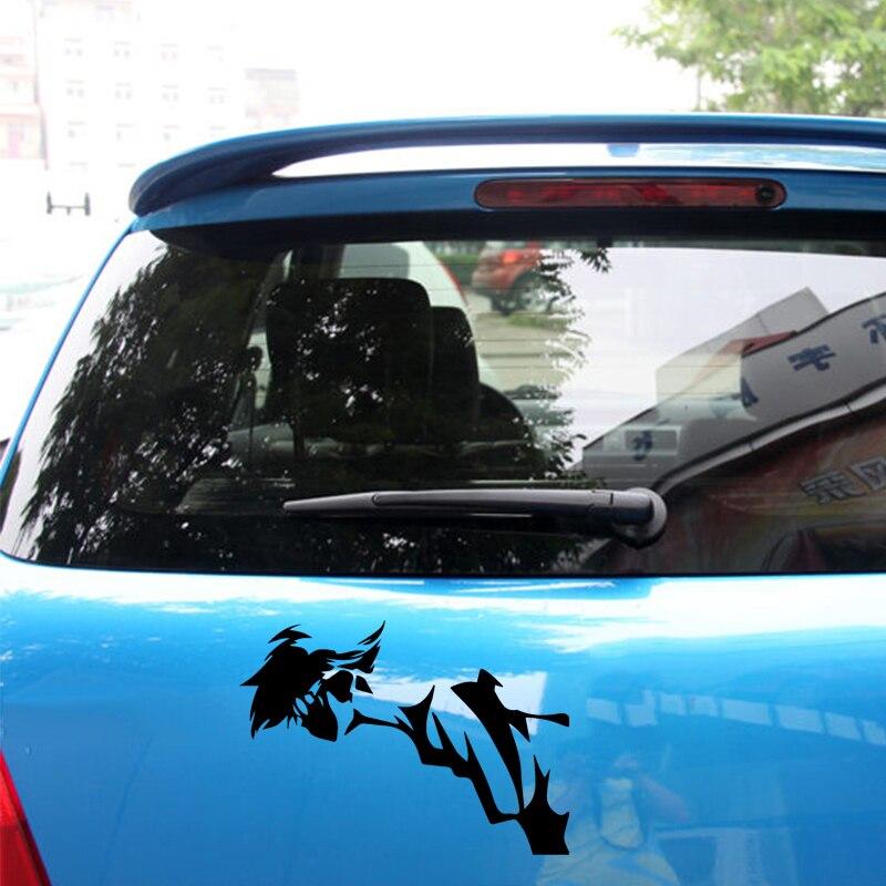 "Vinyl Decal Sticker COWBOY BEBOP EDWARD Car Truck Bumper Window JDM Fun 7/"""