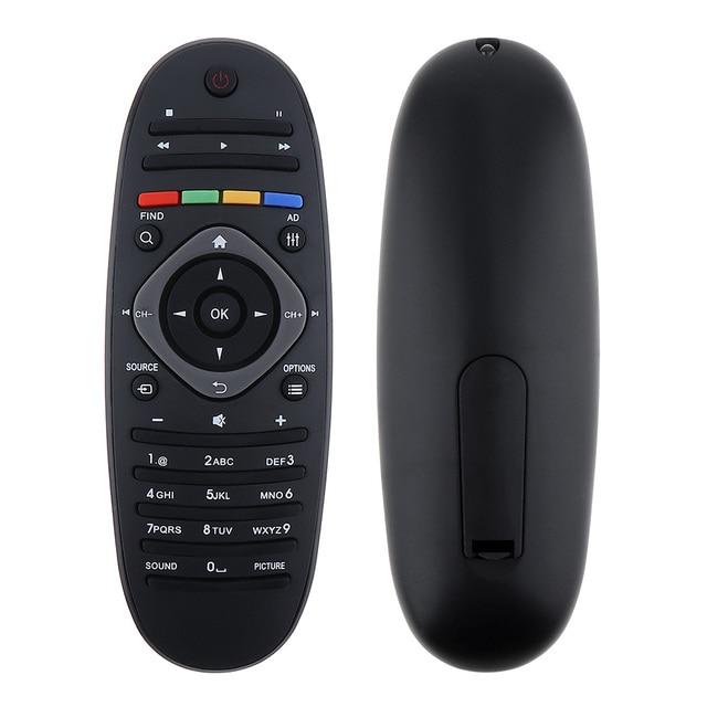 1 قطعة العالمي فيليبس التلفزيون التحكم عن بعد الذكية الرقمية استبدال تحكم عن بعد دعم 2 × بطاريات AAA ل فيليبس TV/DVD