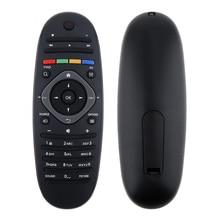 1PC Universal Philips TV รีโมทคอนโทรลสมาร์ทเปลี่ยนรีโมทคอนโทรล 2 x AAA แบตเตอรี่สำหรับ Philips TV/DVD