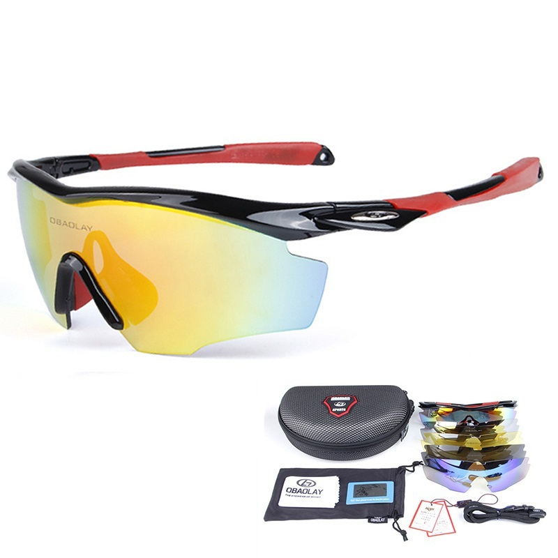 Cycling Sunglasses Sport Polarized Glasses Outdoor Jogging Bike Ride Goggles New