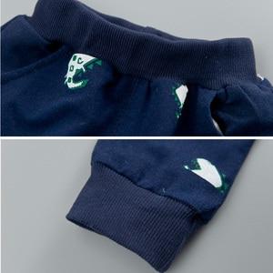 Image 5 - 3 шт., комплект одежды с длинным рукавом для мальчиков и девочек 1 4 года