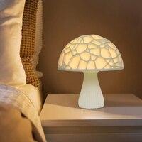 LED Mushroom Lamp Wireless Bluetooth Speaker Lamp Mushroom Light Polymer Lithium Battery 300mAh LED Mutifuctional Night Lights