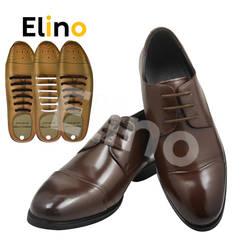 """""""Елино"""" 12 шт эластичный без галстука шнурки для Для мужчин Для женщин Повседневное кожаная обувь силиконовые обувь без застежки кружева"""