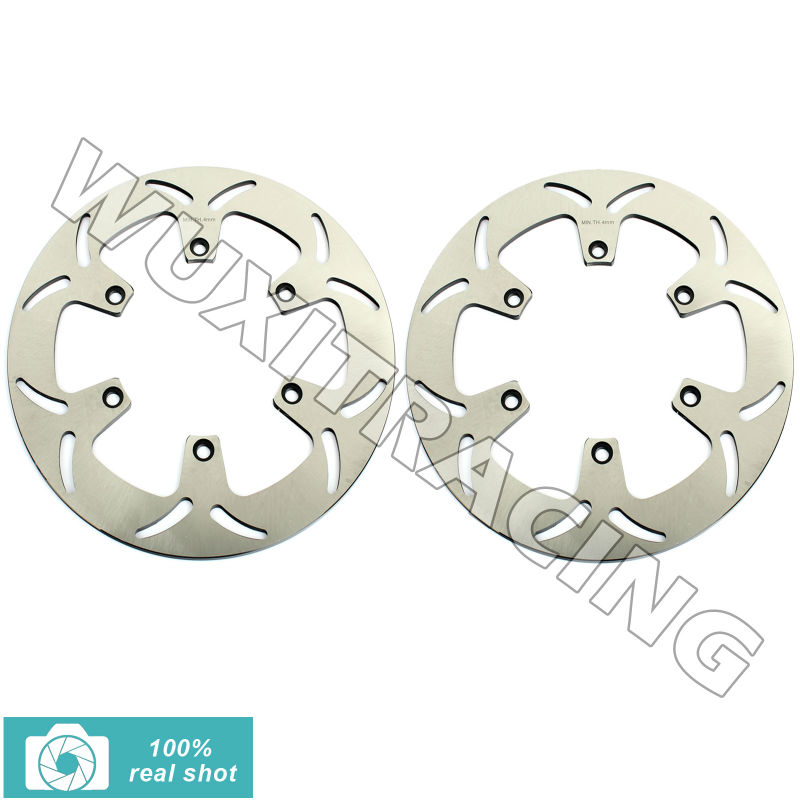 318mm 2pcs New Front Brake Discs Rotors fit for Honda VF 750 C MAGNA 94 95 96 97 98 99 00 01 02 03 ST PAN EUROPEAN 1100 96-01 94 95 96 97 98 99 00 01 02 03 04 05 06 new 300mm front 280mm rear brake discs disks rotor fit for kawasaki gtr 1000 zg1000