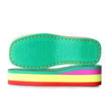 Разноцветные тапочки на платформе ручной вязки «сделай сам» женские домашние тапочки на высоком каблуке с резиновой подошвой