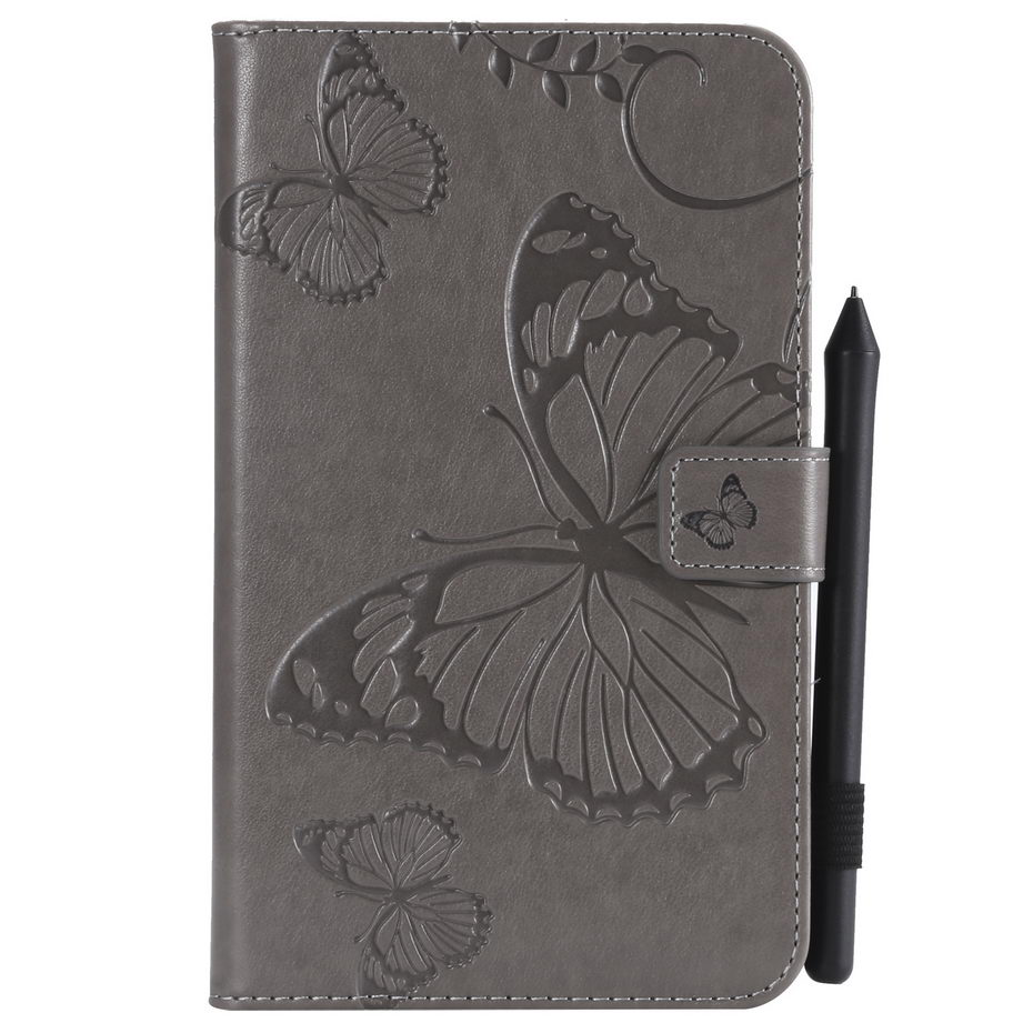 Butterfly Embossed Pattern Case For Samsung Galaxy Tab A A6 7.0 2016 T280 T285 SM-T285 7.0