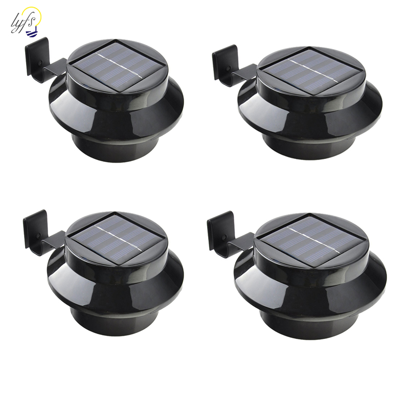 4pcs/lot Solar Energy Garden Gutter Fence Light Garden Lantern LED Solar Light Outdoor Garden Decoration Solar Lamp
