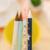 4 unids/lote portaminas Oso de Peluche lindo lápices de papelería escuela material de oficina material escolar