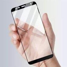 """Housse pour Samsung J4 plus 2018 verre de protection version globale sur pour samsung galaxy j4 j 4 j4plus j42018 6.0 """"housse couvre film"""