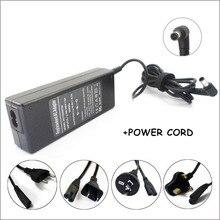 90 W адаптер переменного тока питания для ноутбука Зарядное устройство для Caderno sony VGN-CR410E/T VGN-CR420E/P VGN-CR490EBR VGN-CR320E/T PCEA46FM VPCEA47FX VPCEB33FM