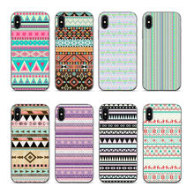 Outmix Gaya India Pola Wallpaper Ponsel Case Kembali Cover untuk iPhone 6 6 S 7 8X5 5 S SE 6 Plus 7 Plus 8 PLUS XR X Max(China)