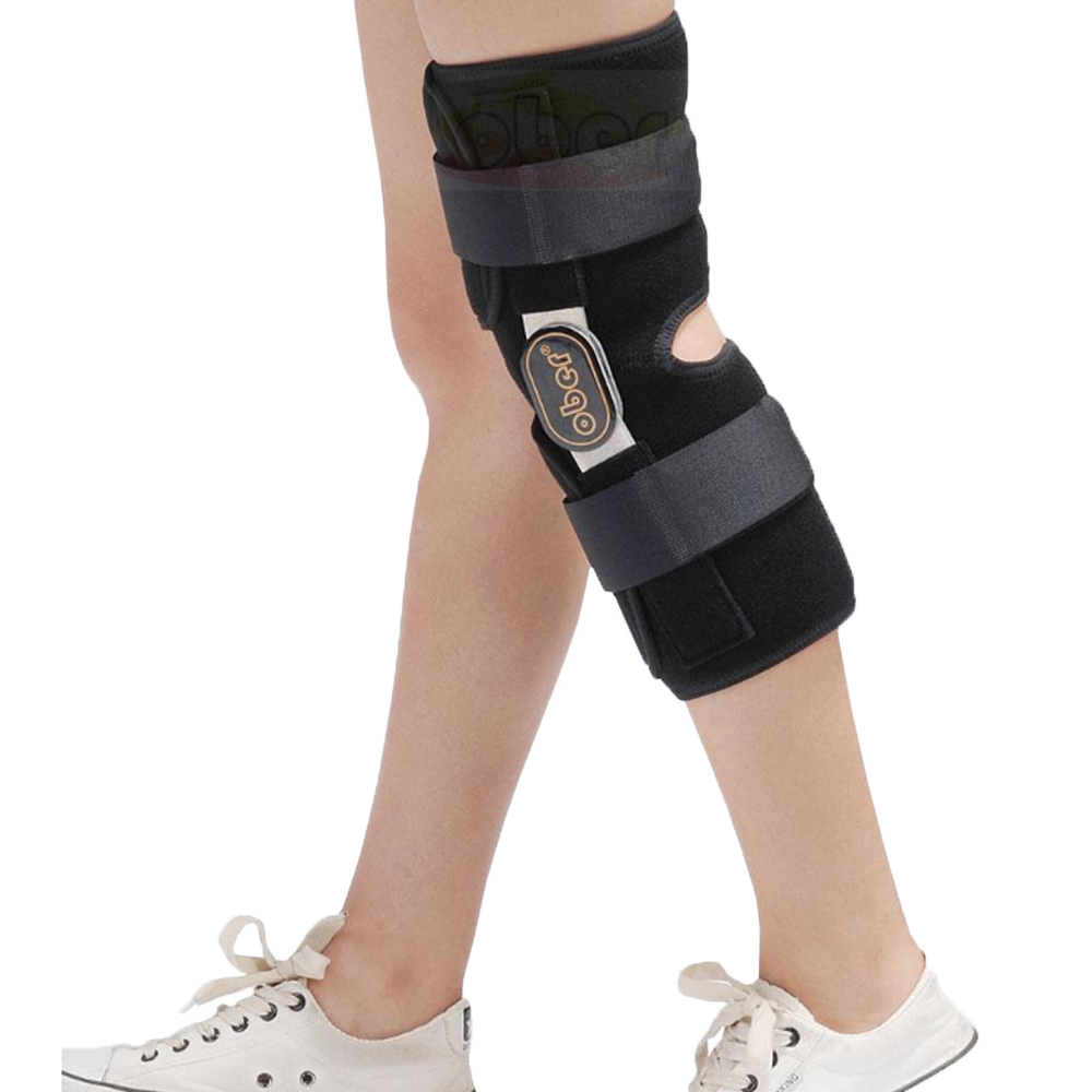 Medical Knee Brace Support Fixator Aluminum Stabilizer Support For Knee Joint Loose Ligamentous Injury 1 Piece