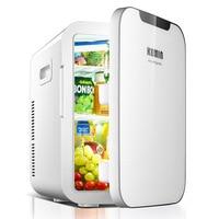 KEMIN 20L авто мини холодильник для автомобиля холодильник Портативный морозильник быстрое охлаждение бытовой двойной охладитель сердечника