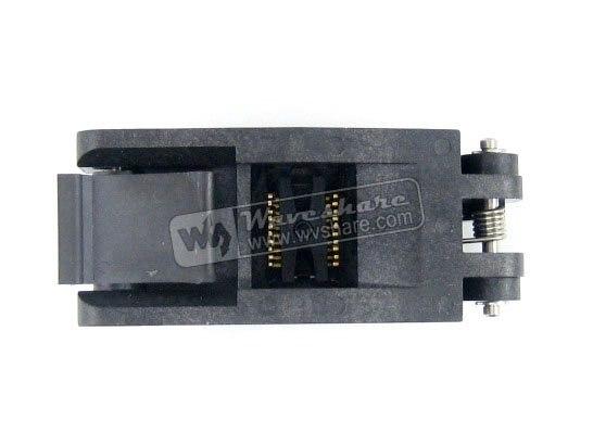 ФОТО Modules SSOP20 TSSOP20 FP-20-0.65-01A Enplas IC Test Burn-in Socket Programming Adapter 0.65mm Pitch 4.4mm Width