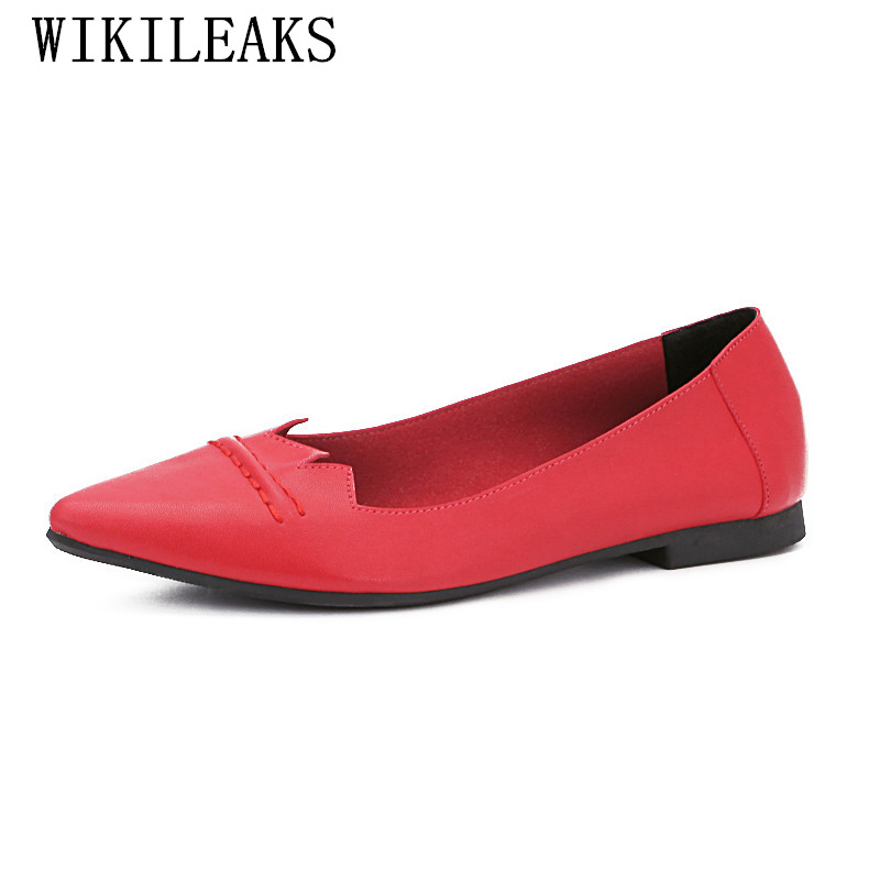 2018 Flat Shoes Women Designer Slip On Loafers Luxury Brand Ladies Wedding Shoes Pointed Toe Bridal Shoes Sexy Valentine Shoes new designer women fur flats luxury brand slip on loafers zapatillas mujer casual ladies shoes pointed toe sapato feminino black