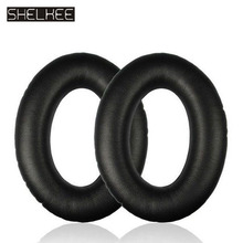 SHELKEE Replacement Ear pads Cushion Cups Ear Earpads for Bose Quietcomfort2 QC25 AE2 QC15 QC2 AE2I AE2W headphones Repair parts цена