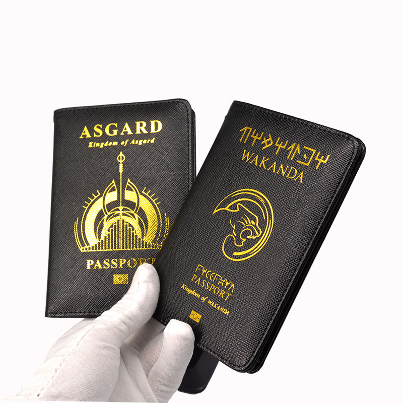 Travel Cute Monkey Passport Cover Women Solid Holder Id Card Covers For Passports Girls Case Passport Wallet Bag Card & Id Holders