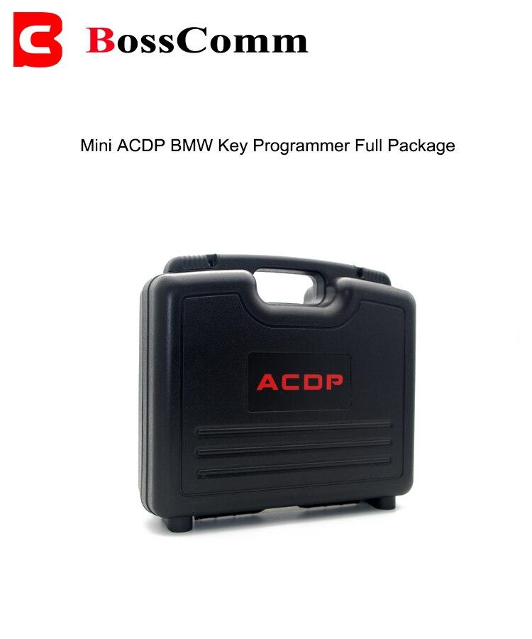 Mini ACDP pour la programmation de clé de voiture BMW avec module de base/CAS/FEM & BDC/module de Code ISN ajouter des clés et outil AKL Original OBD2