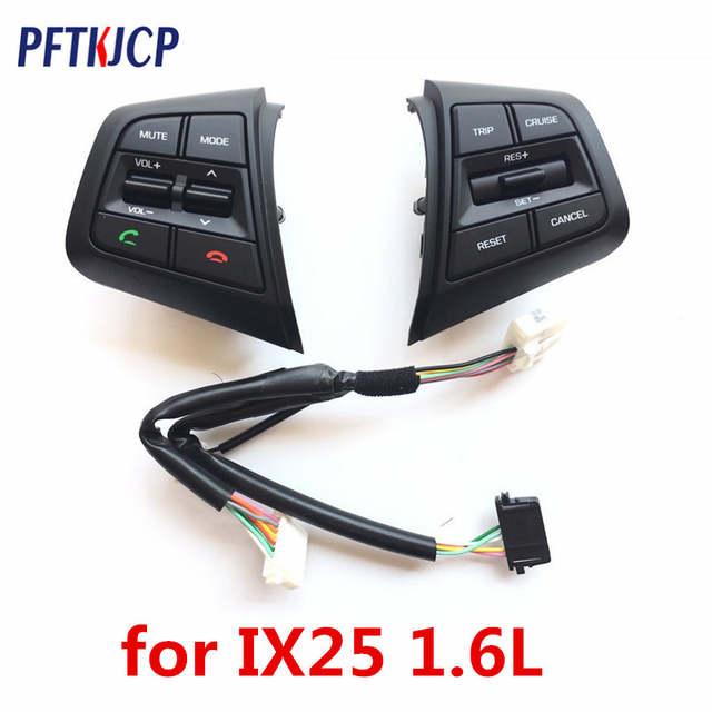 9b747a96b9 Frete grátis Botão do Volante Para Hyundai Creta IX25 1.6L Botões Bluetooth  Telefone Cruzeiro canal
