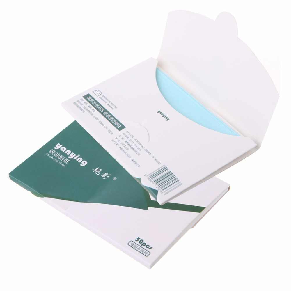 Бумага для лица салфетки для удаления излишка масла глубокий очиститель средство для устранения черных точек прыщей 50 шт./упак. уход за лицом уход за кожей тела