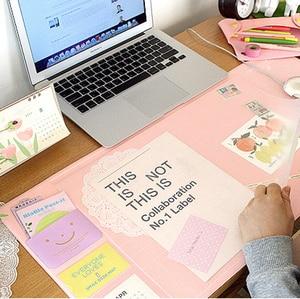 Image 2 - Kore Sıcak Satış Kawaii Şeker Renk Ofis Mat Çok Fonksiyonlu Haftalık Planlayıcısı Organizatör Masası Masa Depolama Memo Mat Öğrenme Pedi