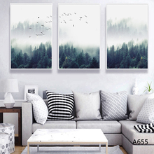 Nordic Fine Art giclee canvas abstract Wall art painting Pictures print living room Decoration MN