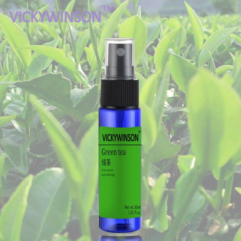 Green Tea Body Spray Odor Antiperspirant Deodorant For Men Women Fragrance Anti Sweat Absorbent Underarm 30ml