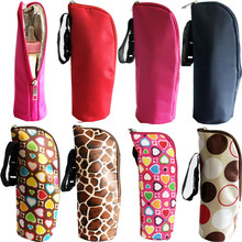 lovely pet New Baby Thermal Feeding Bottle Warmers Mummy Tote Bag Hang Stroller  916