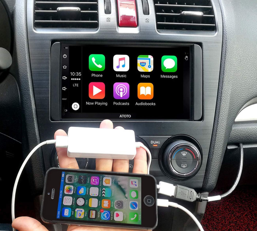 ATOTO AC-CPAA48 USB Smartphone Link Adapter -Put Apple CarPlay/<font><b>Android</b></font> Auto in a USB Adapter! For ATOTO A6 & other <font><b>Android</b></font> radio