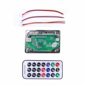 Image 2 - kebidu Wireless Car USB MP3 Player Integrated Bluetooth Hands free MP3 Decoder Board Module with Remote Control USB Aux Radio