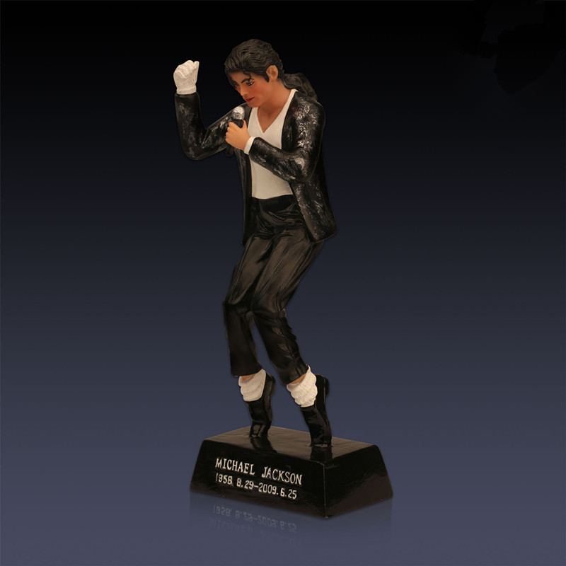 Michael Jackson Lord of the Dance Singer Classic Colophony Crafts Home Decorations Action Figures Collectible Model Toy L1659